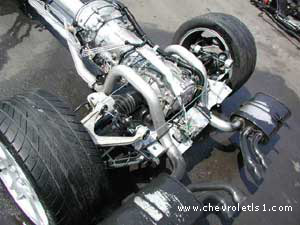 Corvette 6 Speed Gearbox and  Trans Axle